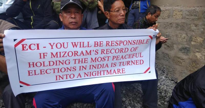 Mizoram: Tension Prevailed After Protest Turned Violent in Kolasib District