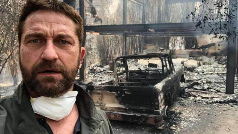 Miley Cyrus, Gerard Butler Loses House in California wildfire