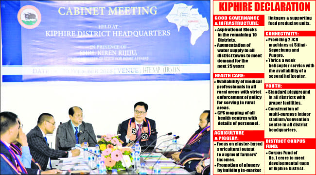 Nagaland: First Full Fledged Cabinet Meeting Takes Place Outside Kohima