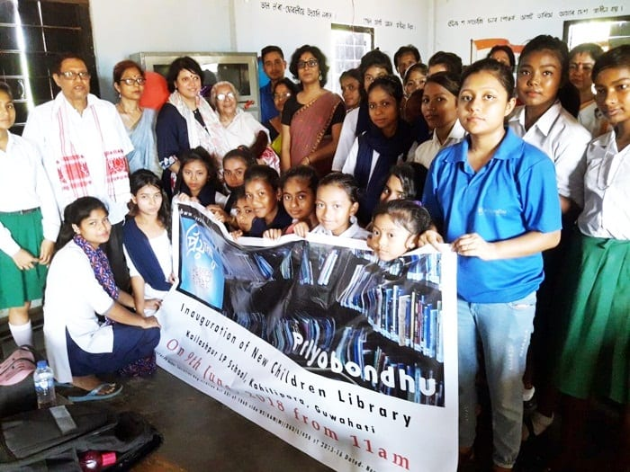 NGO Priyobondhu befriends kids by giving School Kit for a Child
