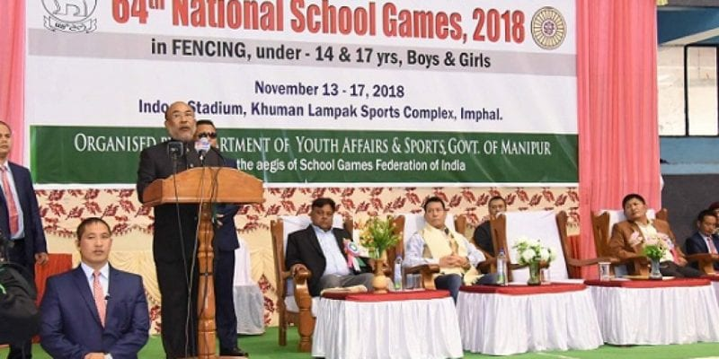 64th National School Games in Fencing Gets Underway at Imphal
