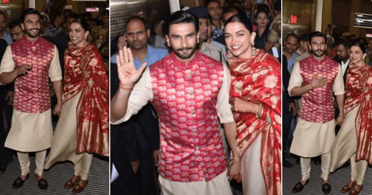 Newlyweds Ranveer, Deepika Welcomed in Mumbai By Sea of Fans