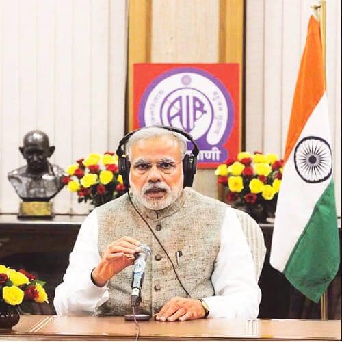'Mann Ki Baat' apolitical, not praise of government :Prime Minister Narendra Modi