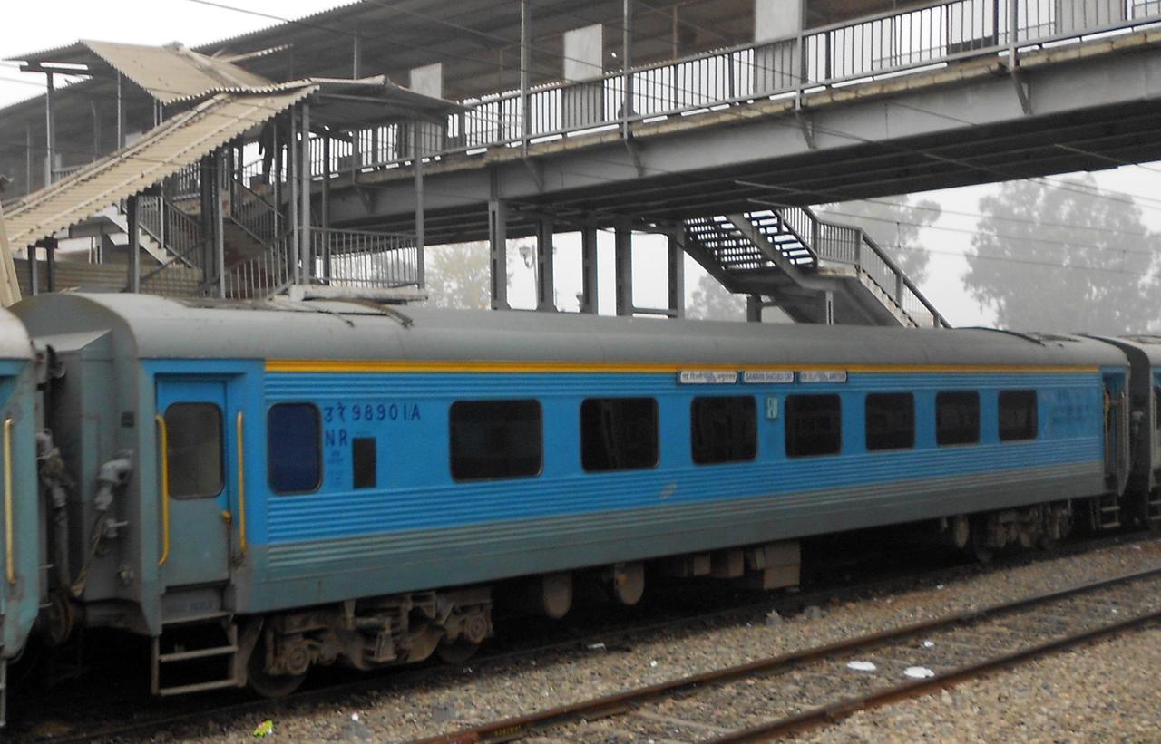 NF Railway  converts five passenger trains into LHB-type coaches