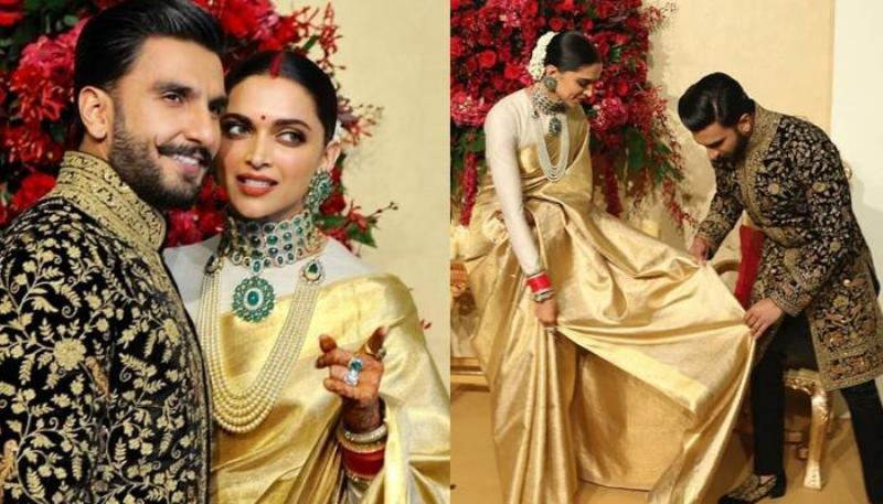 Royalty On Exhibition at Ranveer Singh Deepika Padukone