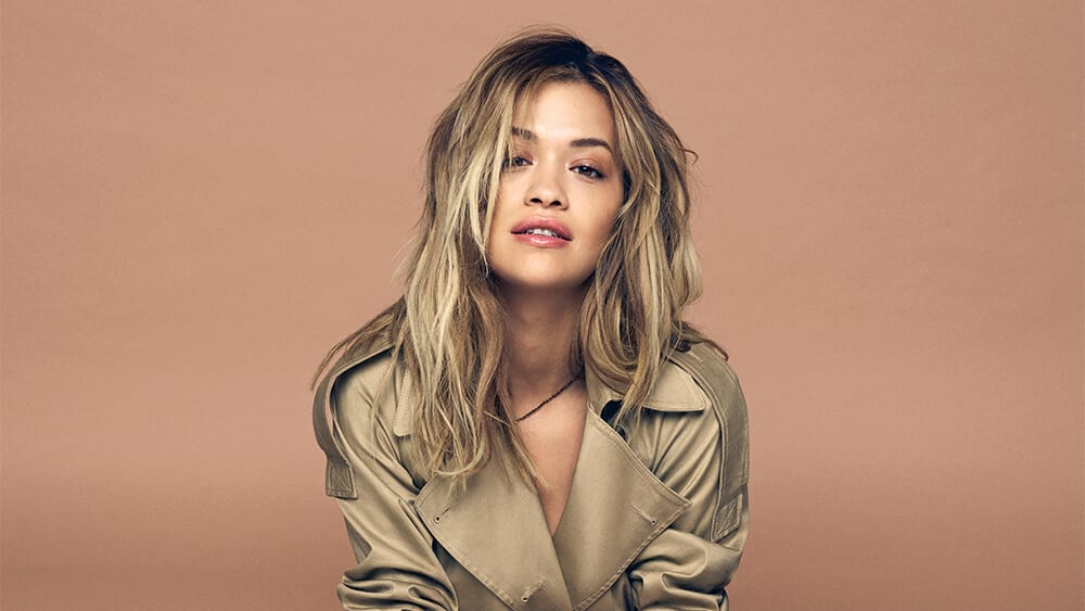 Singer Rita Ora dares to bare on social media