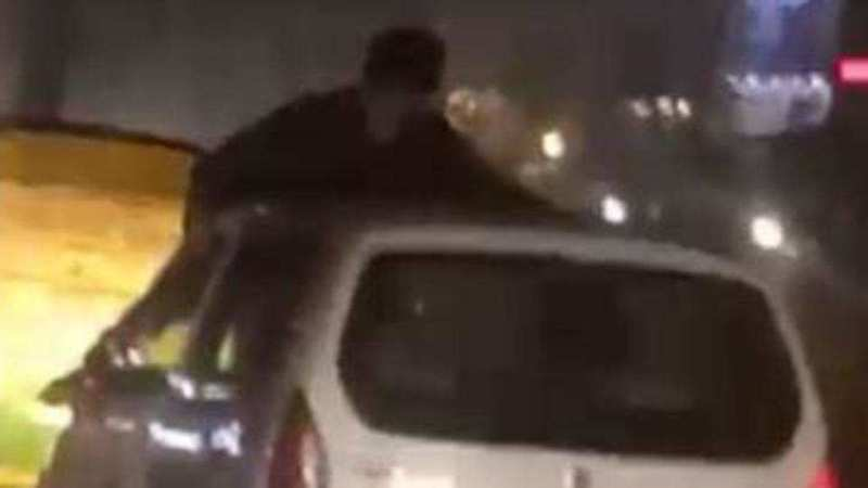Miraculous Escape for Purchase Manager in a Road Rage Incident at Sahibabad