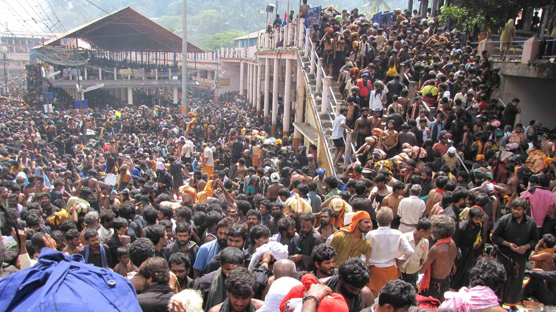Sabarimala pilgrims arrested