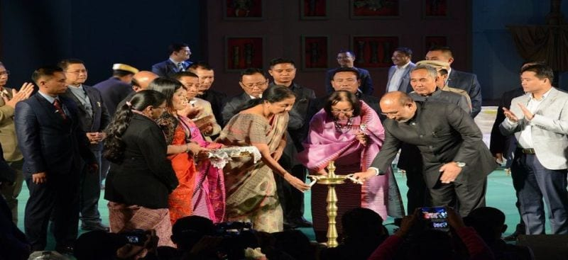"""""""Culturally rich Manipur has so many to offer to the world"""": Nirmala Sitharaman"""