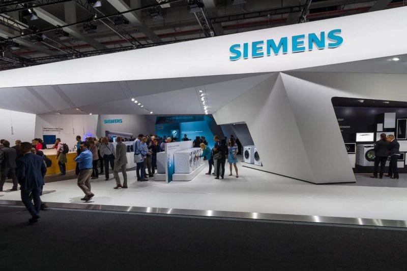 German conglomerate Siemens India Arm 2017-18 Revenue up by 15%