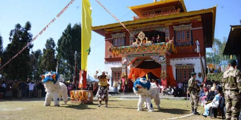 Sikkim: Newly Constructed Pabyuik Monastery in East Sikkim Inaugurated