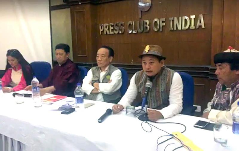 All Indigenous Bhutia Lepcha Tribals of Sikkim Holds Press Meet in New Delhi