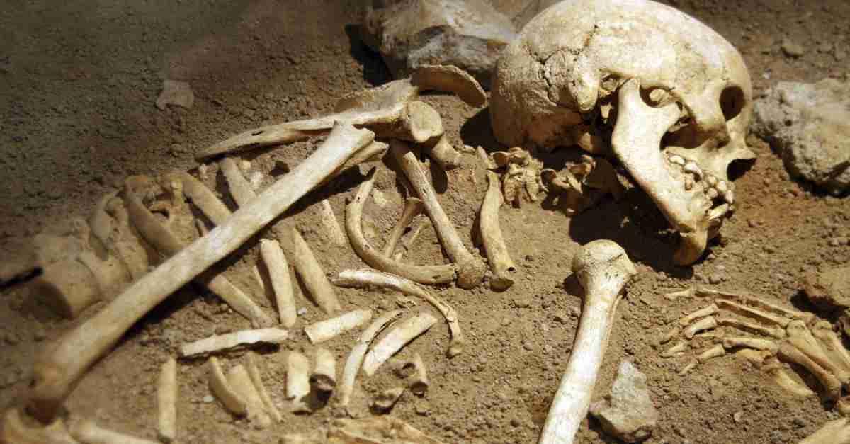 Skeletons found while digging earth at Gandhi Basti in Guwahati