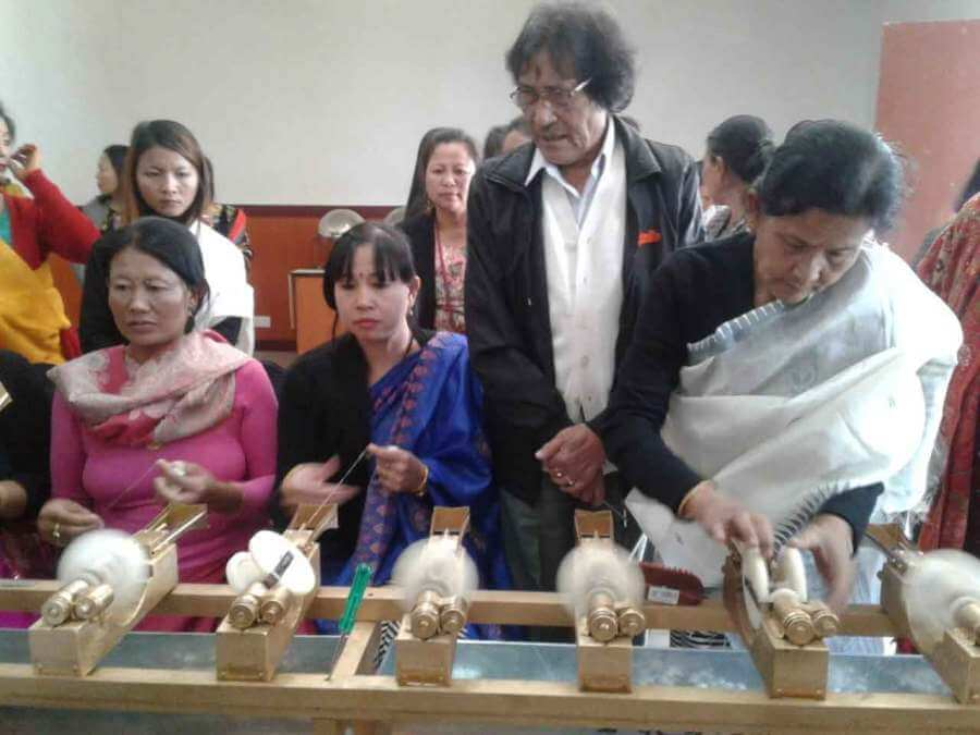 Innovative spinning machine unveiled in Manipur