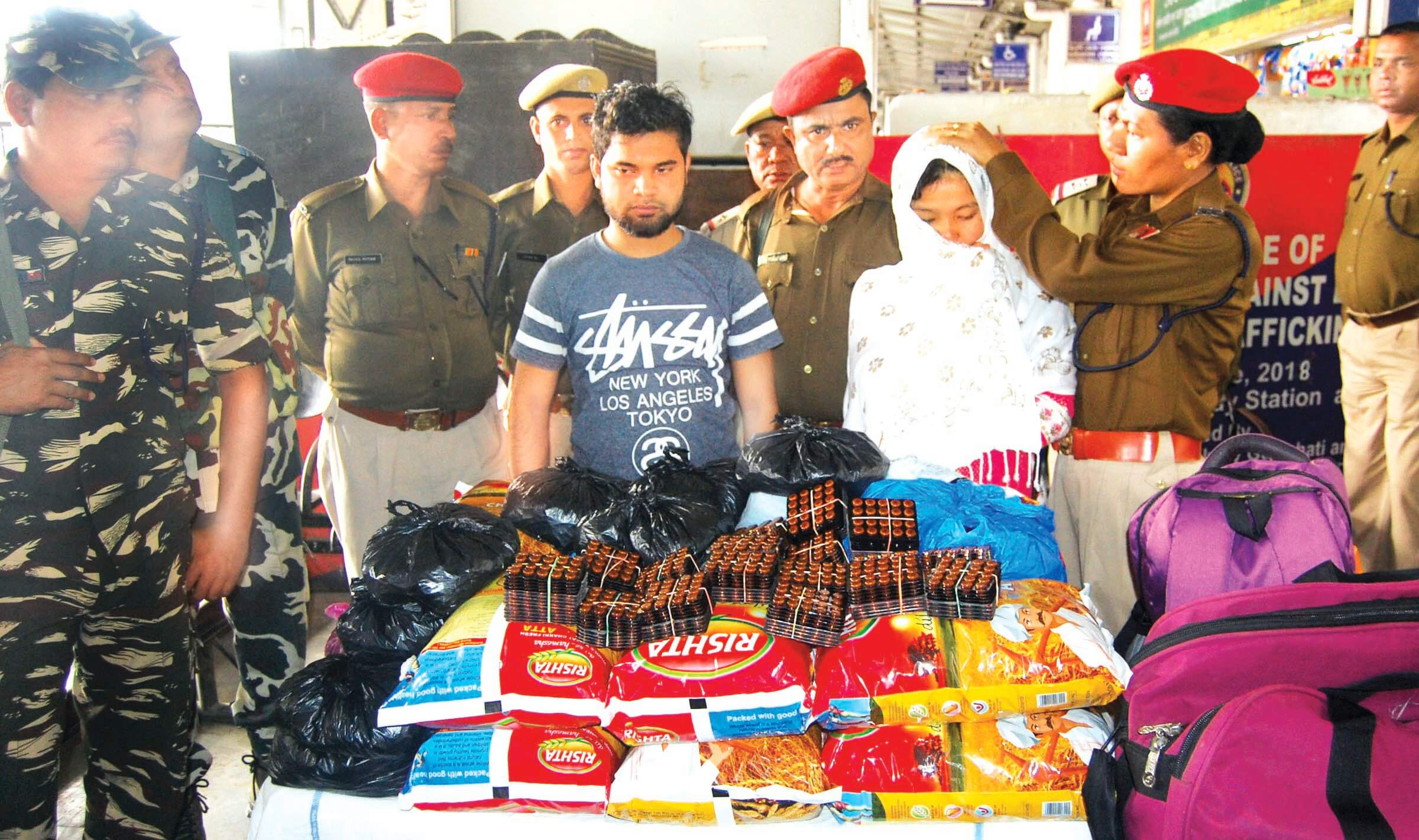 Two arrested in Guwahati Railway Station, drugs seized