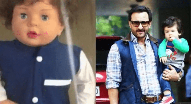 Saif-Kareena Not Quite Pleased To See Taimur Doll, Says They Rather Want a Normal Life For Their Son