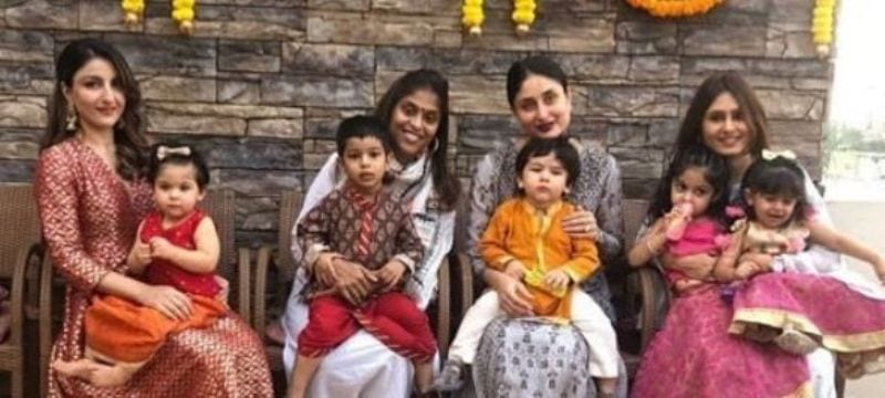 Taimur Ali Khan and Inaya Naumi Kemmu Done An Ethnic Look On Their Diwali Outing