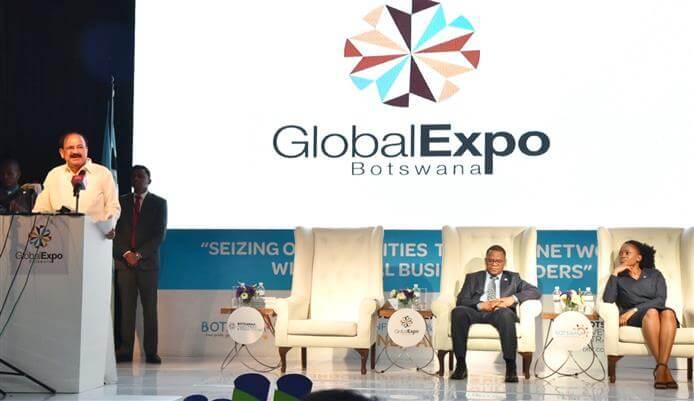 M. Venkaiah Naidu Opens Global Expo Botswana 2018