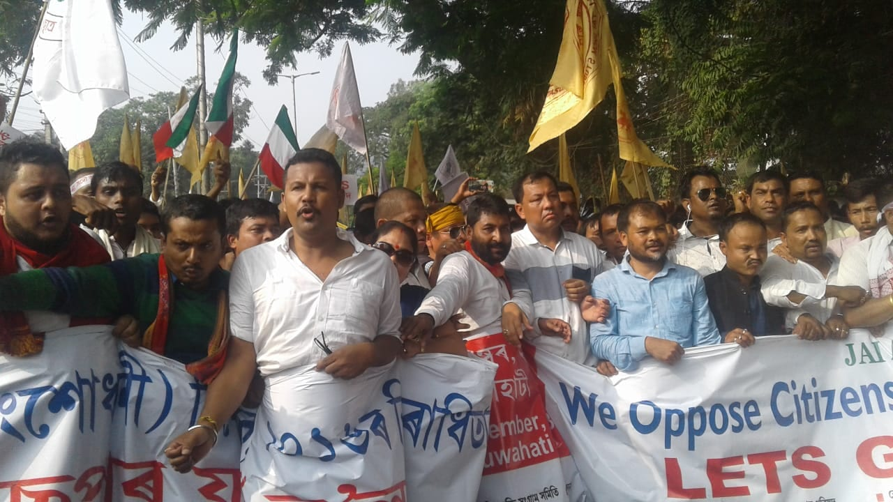 70 indigenous organizations continued to Protest despite imposition of Section 144 CrPC