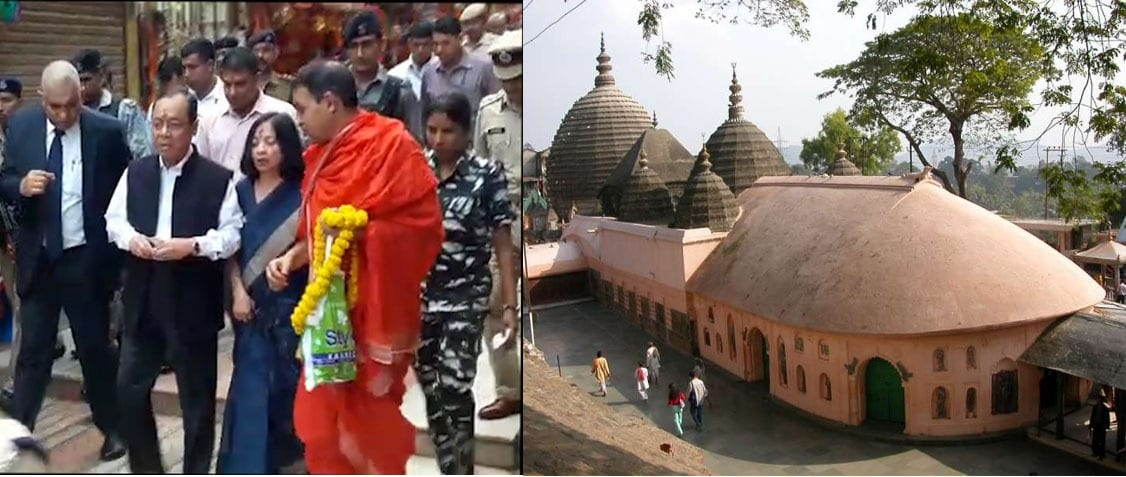 CJI Gogoi refused to accept any hospitality of protocol support from State Government for today's visit to Kamakhya Temple