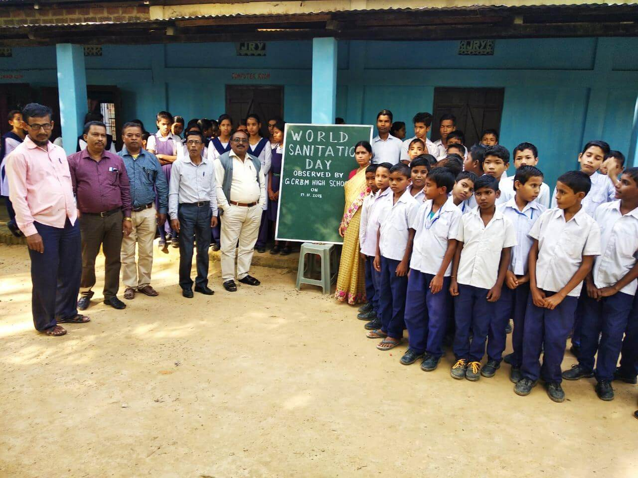 World Toilet Day observed in schools at Hailakandi district