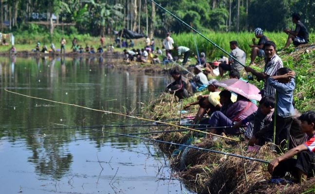 Angling Competition held in Shillong
