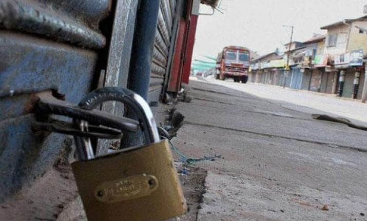 2 strikes paralyse normal life in Manipur