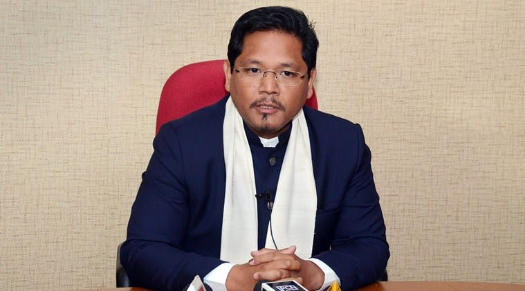 Chief Minister Conrad K Sangma Meet NITI Aayog members At Secretariat