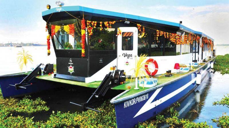 Kerala Launches Vega 120, the Fastest Inland Ferry!