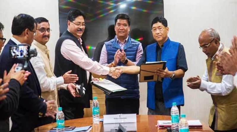 Arunachal Pradesh re-granted  Petroleum Mining Lease (PML)with  signing of deed