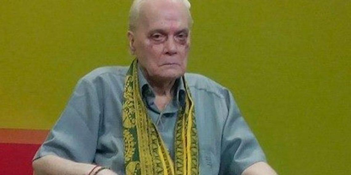 State mourns demise of Sahityacharjya  Dr Pramod Chandra Bhattacharya