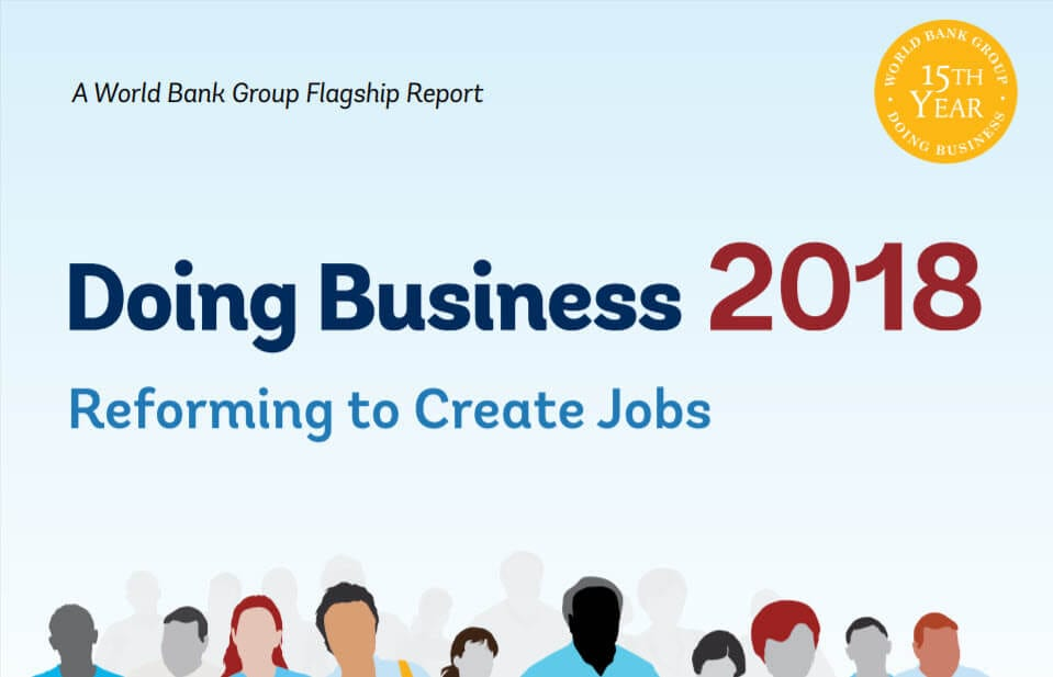 India Jumps to 77th Rank in World Bank's Doing Business Report