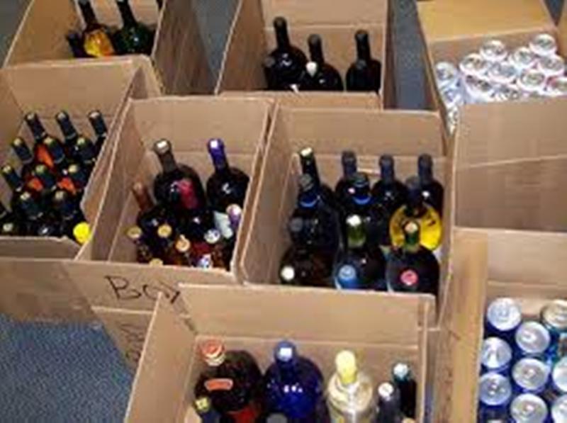 Liquor dens concocting brew of death