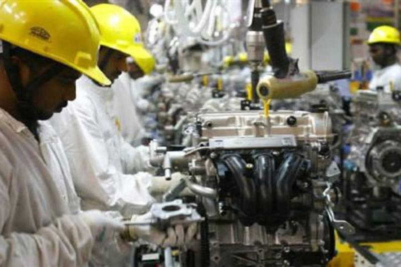 India's September Industrial Output Growth Slips to 4.5%