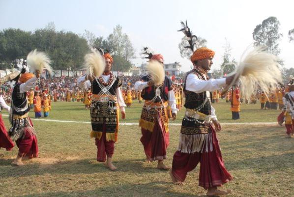 Shad Nongkremshowcase Khasi Heritage in Shillong