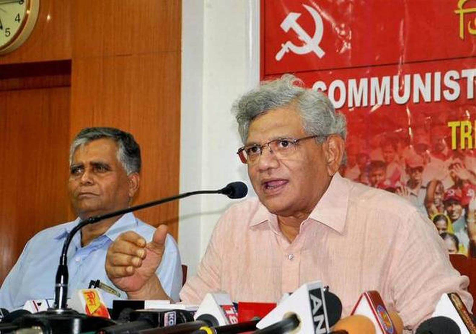 BJP seeks votes in Lord Ram's name, needs to be stopped: CPI-M leader Sitaram Yechury