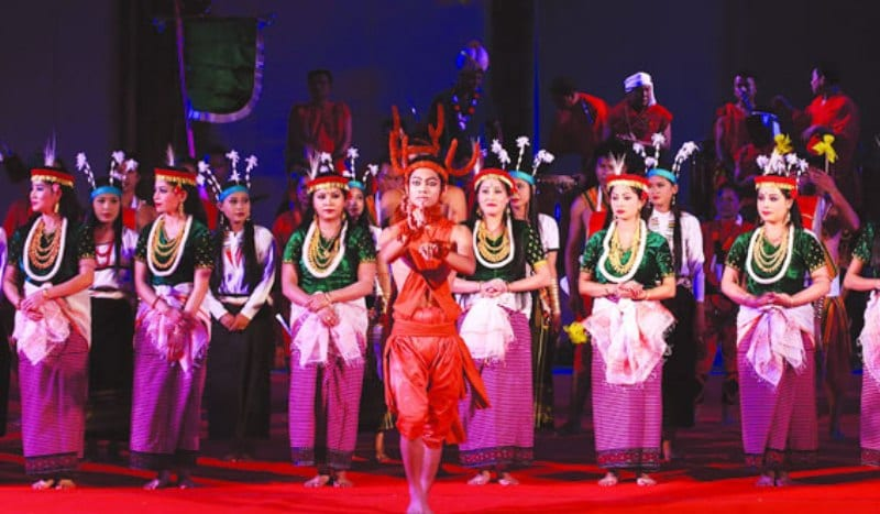 Curtain Raiser Event for Manipur Sangai Festival Organised at Delhi
