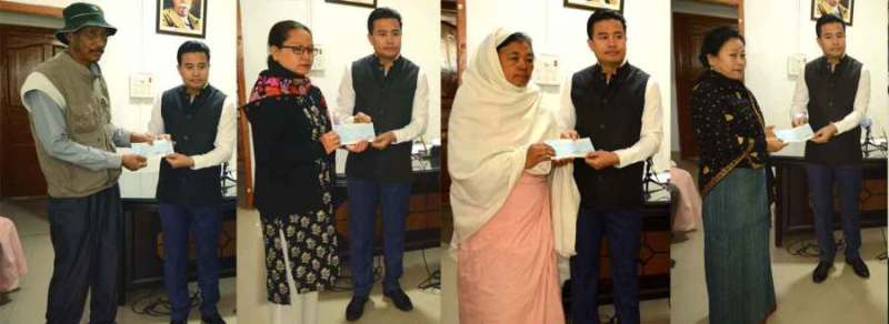 Manipur: Financial Assistance Provided to Six Media Persons