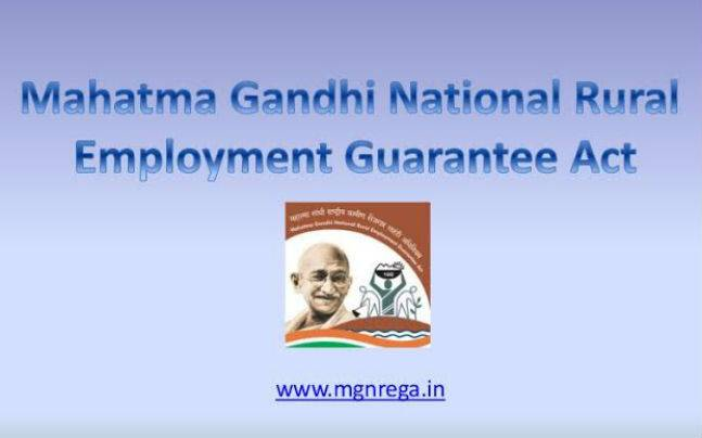 Mahatma Gandhi National Rural Employment Guarantee Act (MGNREGA) works not up to mark in State