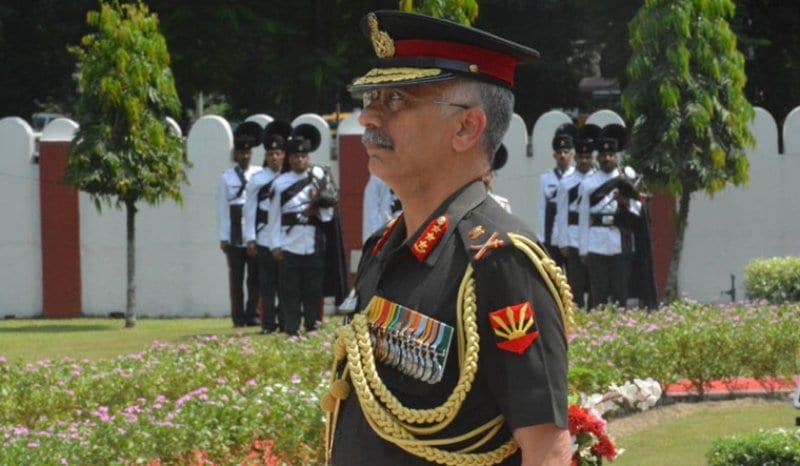 Eastern Army Commander Lt Gen Manoj Mukund Naravane