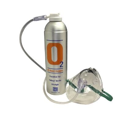 Demand growing for portable oxygen cans