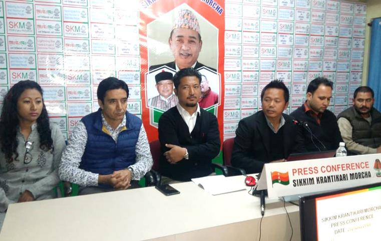 Sikkim :  Golay Begins Parivartan  Sankalpa Yatra from West Sikkim