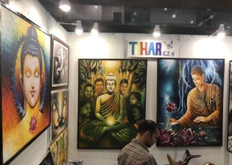 India Art Festival displays art by Tihar inmates, disabled