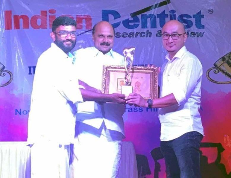 Dentist from Nagaland gets  Golden Tooth Award