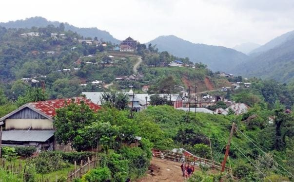 MLA Parimal Debbarma visit Dhalai district in Tripura