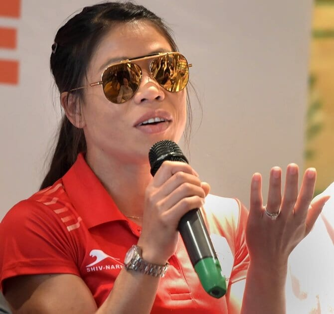 COVID-19 update: Ace boxer Mary Kom breaks quarantine protocol, meets President of India