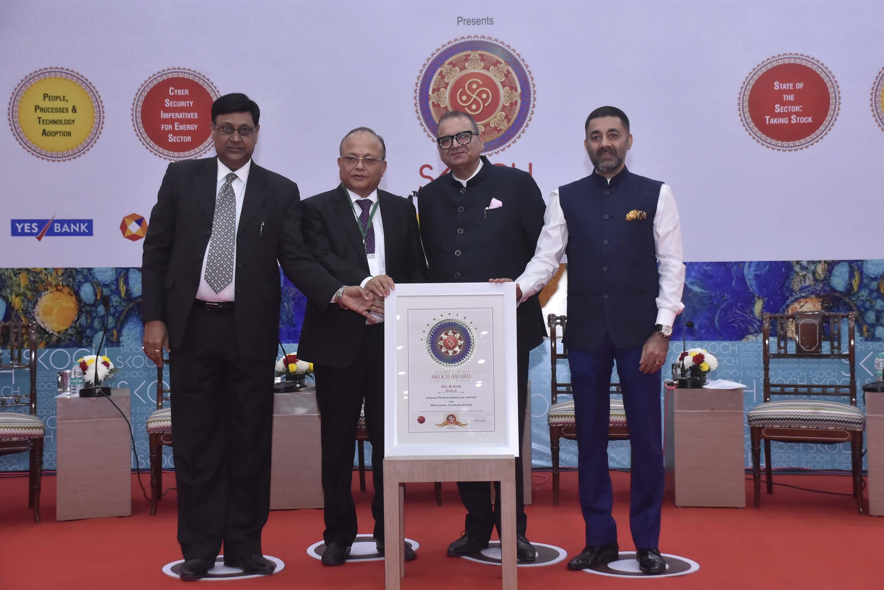 Assam Petro-chemicals Limited bags Skoch Gold Award