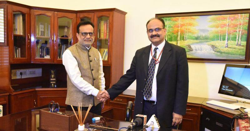 Ajay Bhushan Pandey Takes Over as Revenue Secretary