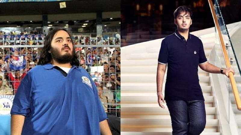 Heres The Weight Loss Journey of Indias Richest Son Anant Ambani