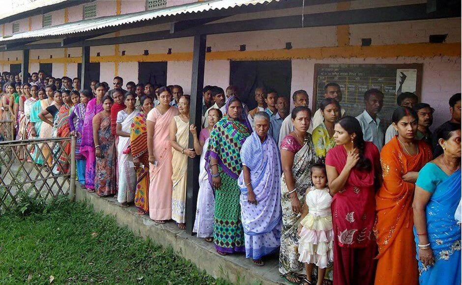 Panchayat polling begins in Assam, Police opens fire on man who attempted an attack